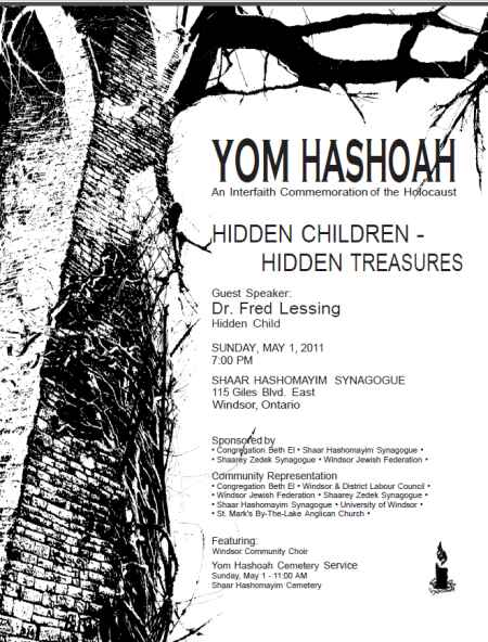 Yom Hashoah - May 1, 2011